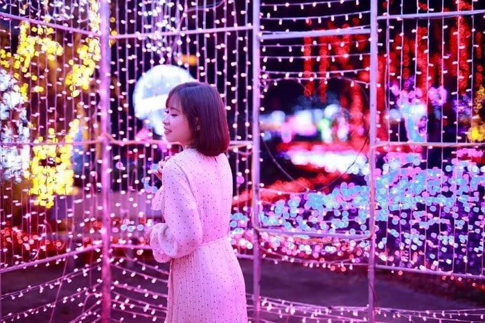 Công viên ánh sáng Pha Luông tựa như thiên đường ánh sáng kỳ ảo