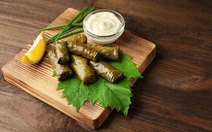 Lá nho nhồi thịt bămKoupepia - Du lịch đảo Síp