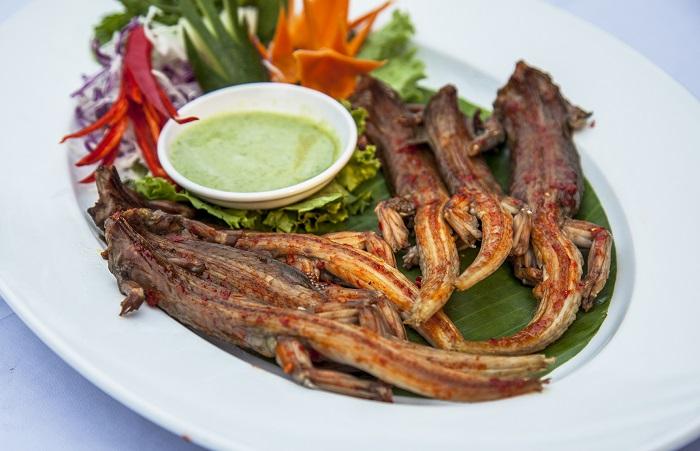 Thịt dông - Món ăn ngon, đặc sản ở Mũi Né