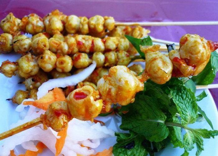 Răng mực nướng - Món ngon, đặc sản ở Mũi Né