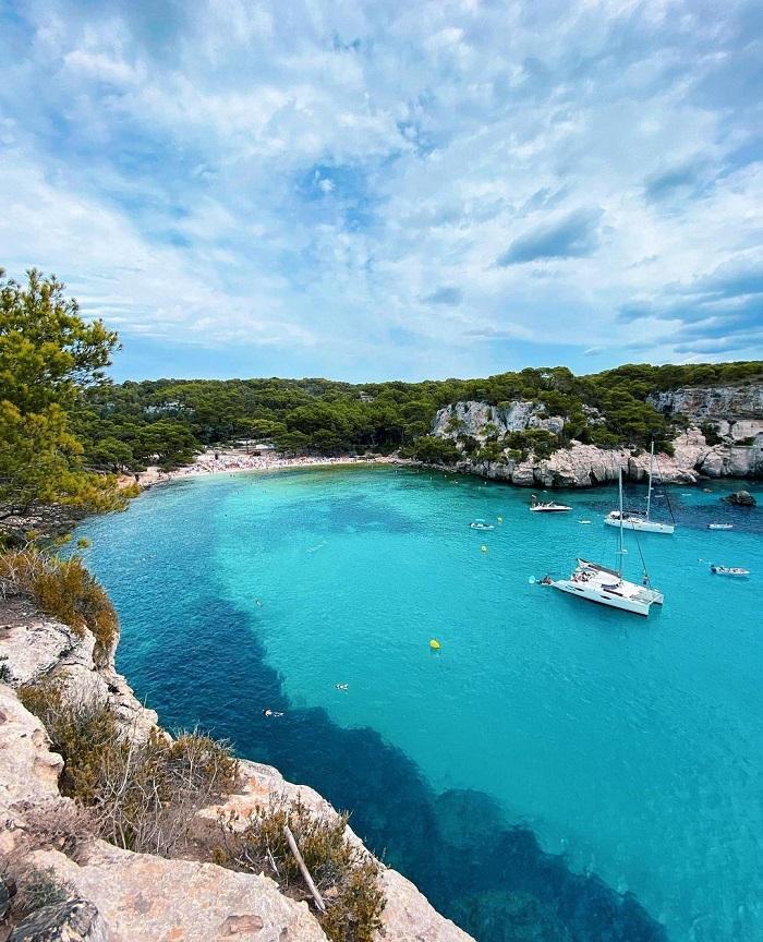 Các bãi biển ở Menorca là một trong những bãi biển tốt nhất ở Địa Trung Hải - du lịch đảo Menorca