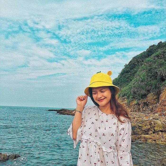 rừng xanh - điểm nhấn của Đảo Thanh Lân