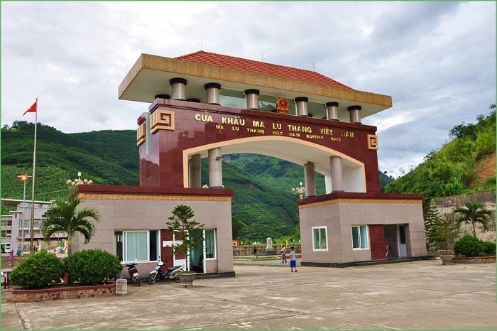 Cửa khẩu Ma Lù Thàng - Địa điểm du lịch ở Phong Thổ