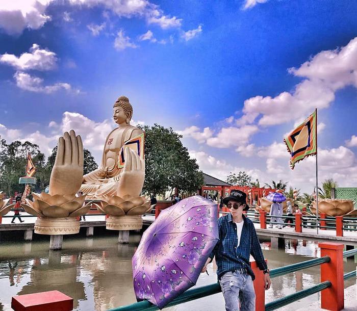 Vãn cảnh chùa Phật Học 2 - du lịch tâm linh