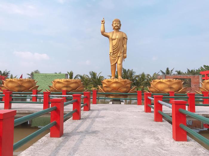 Vãn cảnh chùa Phật Học 2 - Điểm du lịch