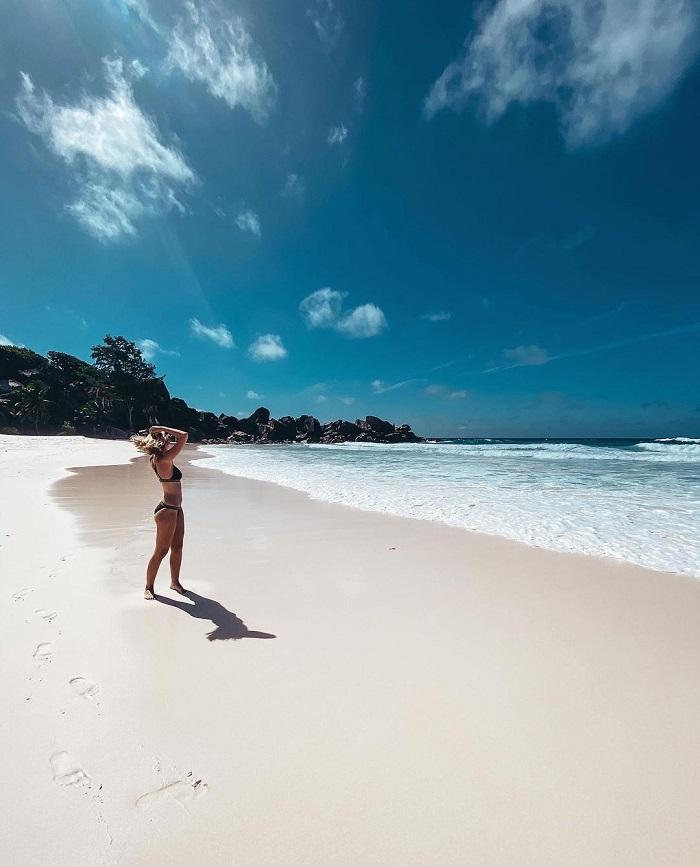 Bãi biển Beau Vallon - Du lịch Seychelles