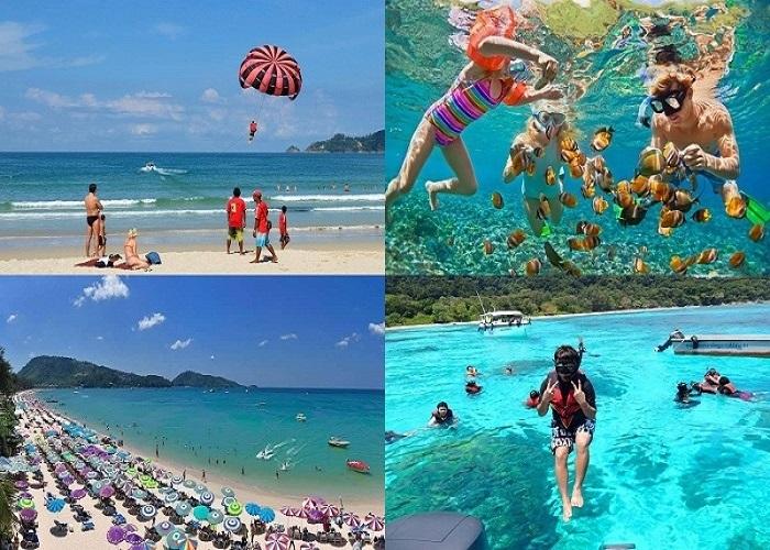 Biển Patong - Địa điểm du lịch Patong nổi tiếng