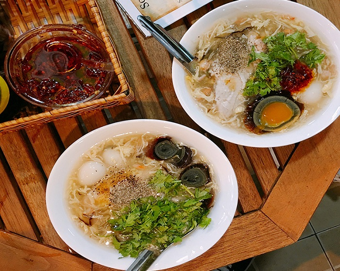 du lịch Sài Gòn 1 ngày - súp cua trứng bắc thảo