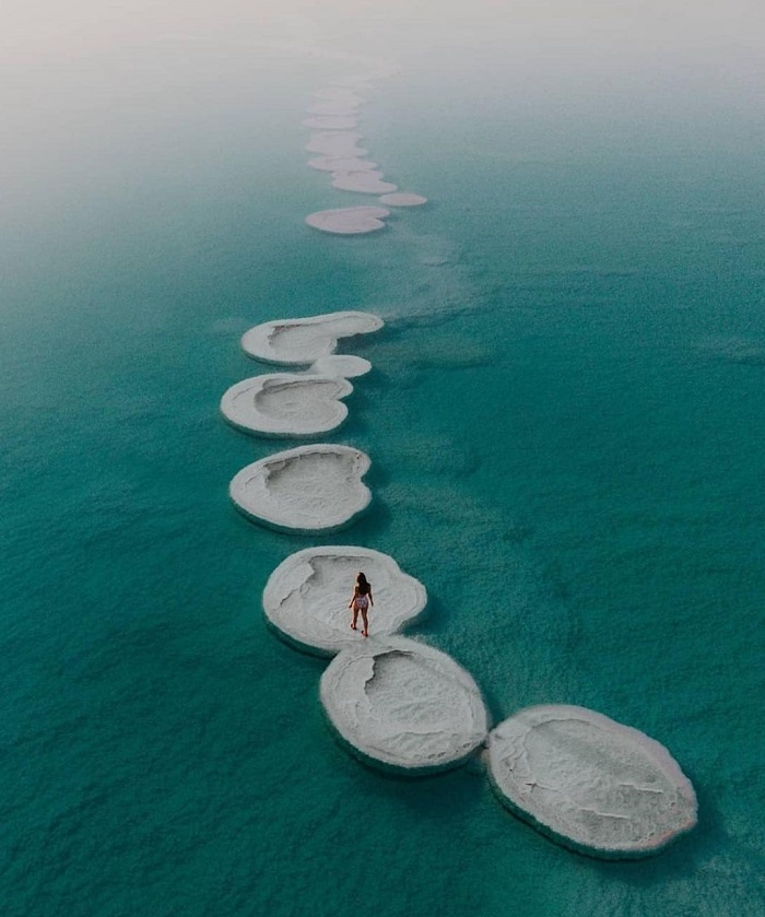 Biển Chết đang bị thu hẹp lại hàng năm do lượng nước bốc hơi - Du lịch Biển Chết