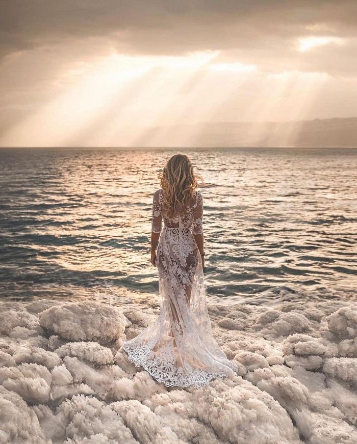 Biển Chết từng là một khu nghỉ dưỡng chữa bệnh kể từ trước khi Cleopatra ngâm mình trong bùn từ đáy biển - Du lịch Biển Chết.