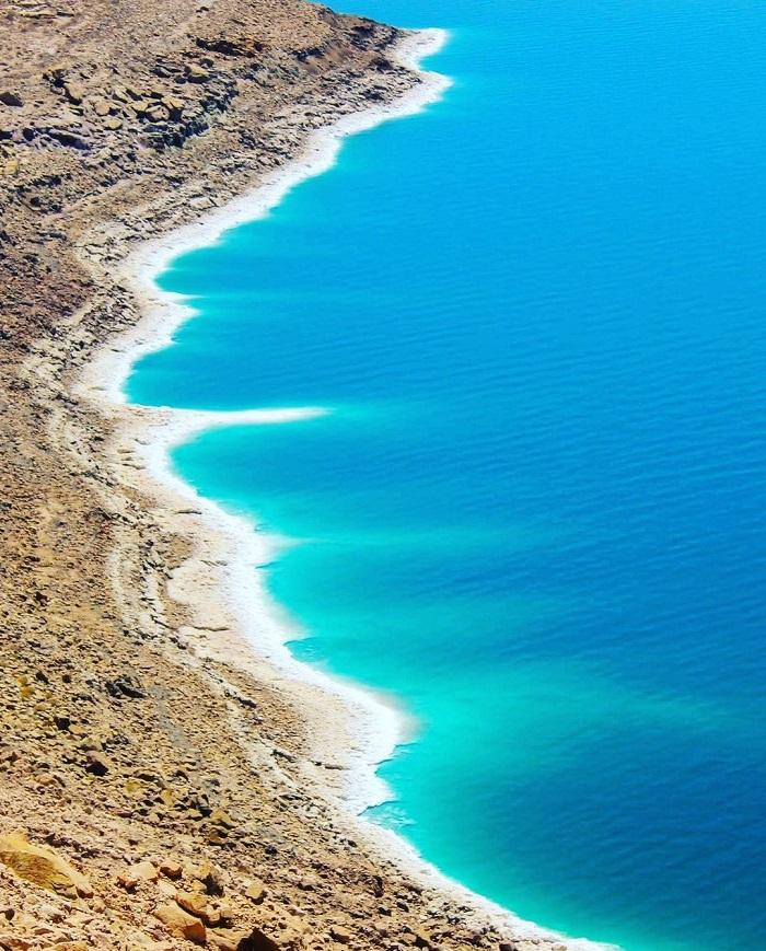 Biển Chết thực sự là một hồ giáp với Israel và Jordan - du lịch Biển Chết