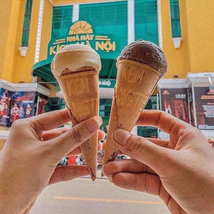 Giới thiệu về kem Tràng Tiền Hà Nội