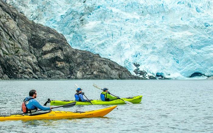 Chèo thuyền kayak - Kinh nghiệm du lịch Alaska
