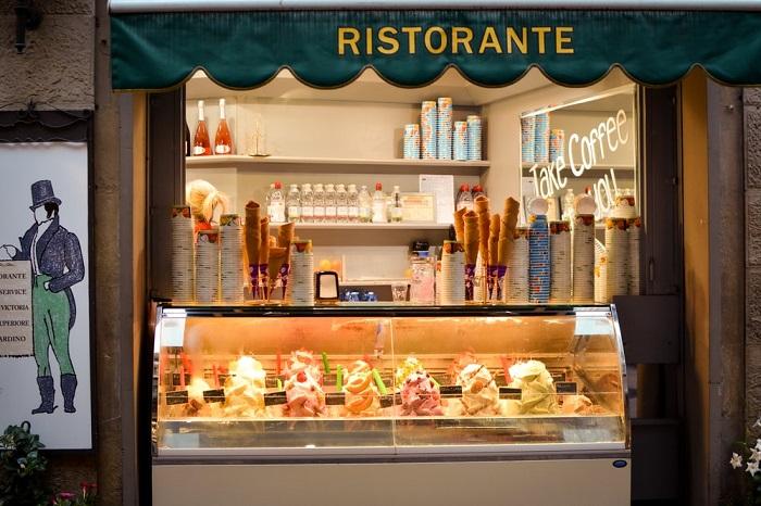 Gelato - Ẩm thực Florence