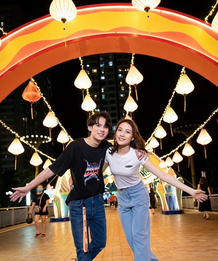 khu vui chơi Quận 2 Sài Gòn - Vincom Mega Mall Thảo Điền vui chơi