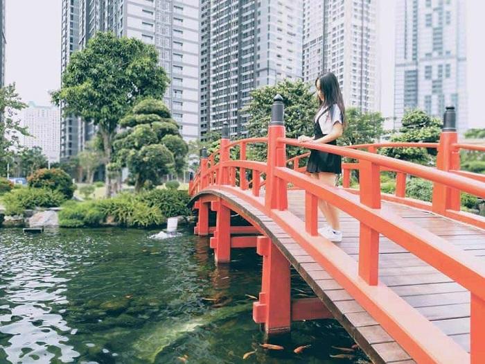 khu vui chơi Quận 2 Sài Gòn - Công viên khu đô thị Sala sống ảo