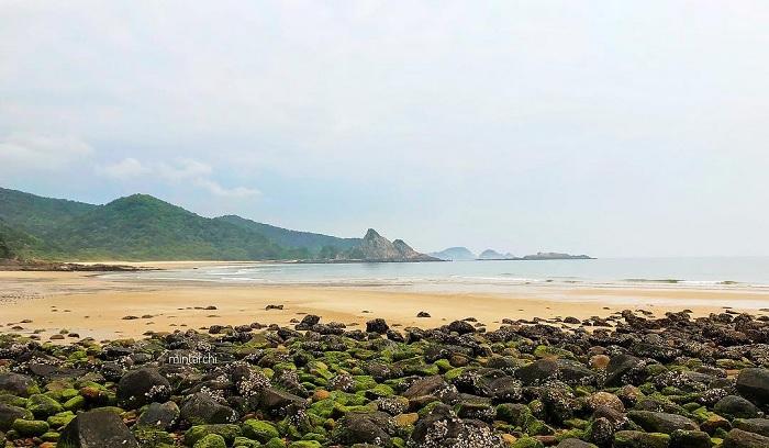 hoang sơ - vẻ đẹp của Đảo Thanh Lân