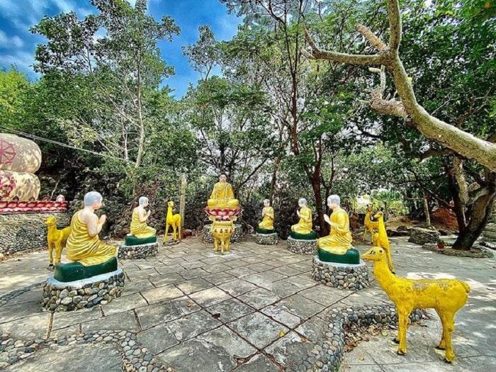 Kiến trúc ở chùa Từ Vân Nha Trang