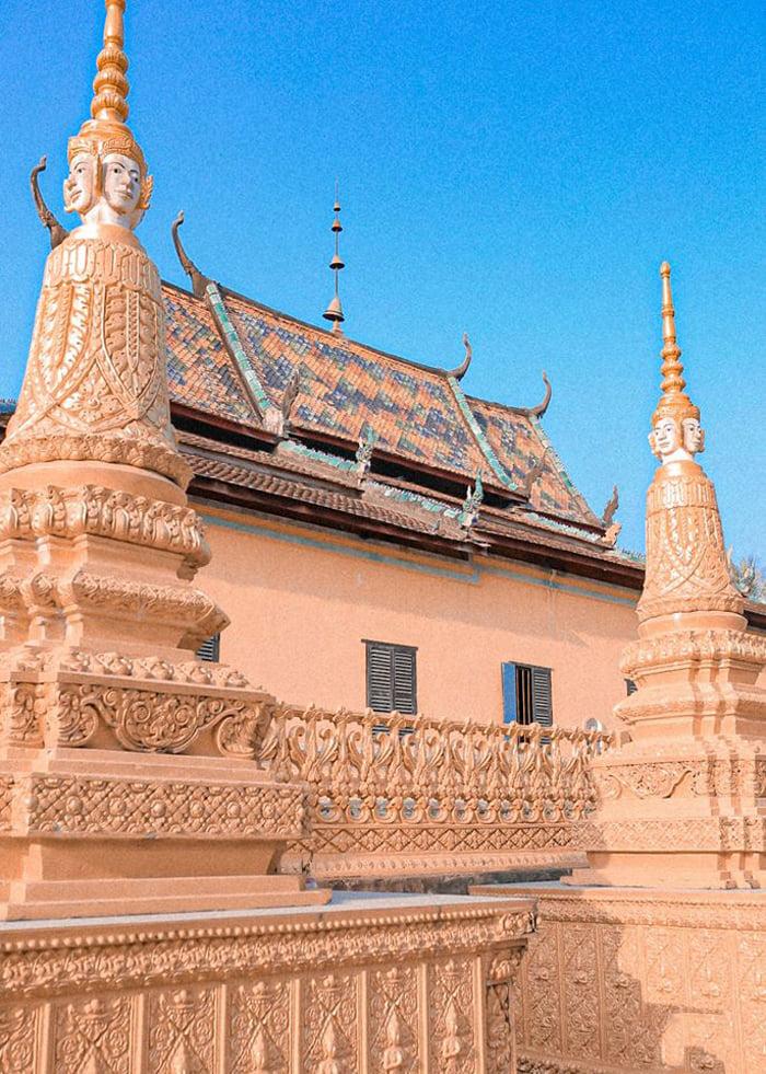 Check in chùa Cọc An Giang - Kiến trúc tôn giáo đẹp