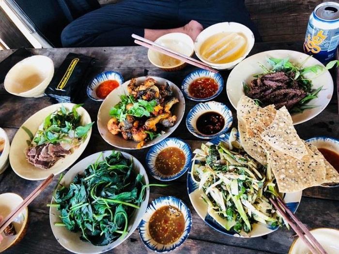 Kinh nghiệm đi 5Ku Farm Sài Gòn- ăn uống