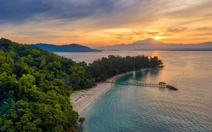 Kinh nghiệm du lịch Kota Kinabalu nên đi đâu? Đảo Manukan - Địa điểm du lịch nổi tiếng ở Kota Kinabalu