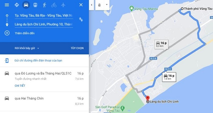 Chi Linh Vung Tau tourist village - move