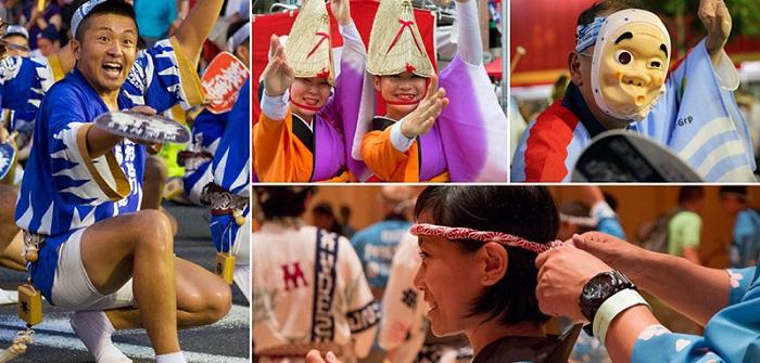 Awa Odori Matsuri - Lễ hội mùa hè ở Nhật Bản