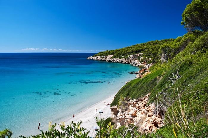 Tầm nhìn từ Camí de Cavalls - Du lịch đảo Menorca