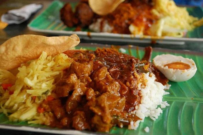 Nasi Kandar - Món ăn truyền thống Malaysia