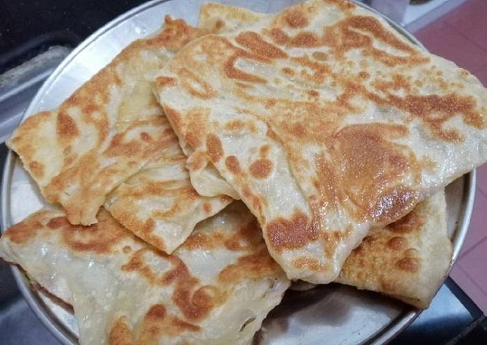Roti Canai - Món ăn truyền thống Malaysia