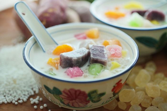 Bubur Cha Cha - Món ăn vặt ở Malaysia