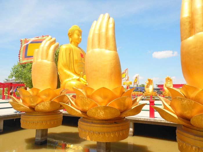 Vãn cảnh chùa Phật Học 2 - Ngôi chùa lộng lẫy