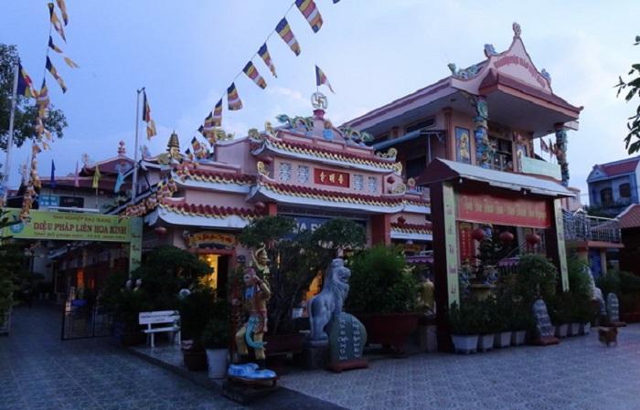 Những ngôi chùa ở Kiên Giang - chùa Phổ Minh