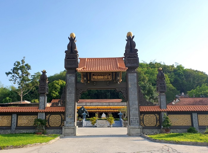 Những ngôi chùa ở Kiên Giang - chùa Phù Dung Tọa