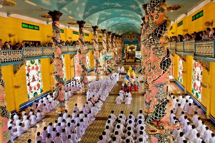 Những ngôi chùa ở Kiên Giang - Thánh Thất Dương Đông