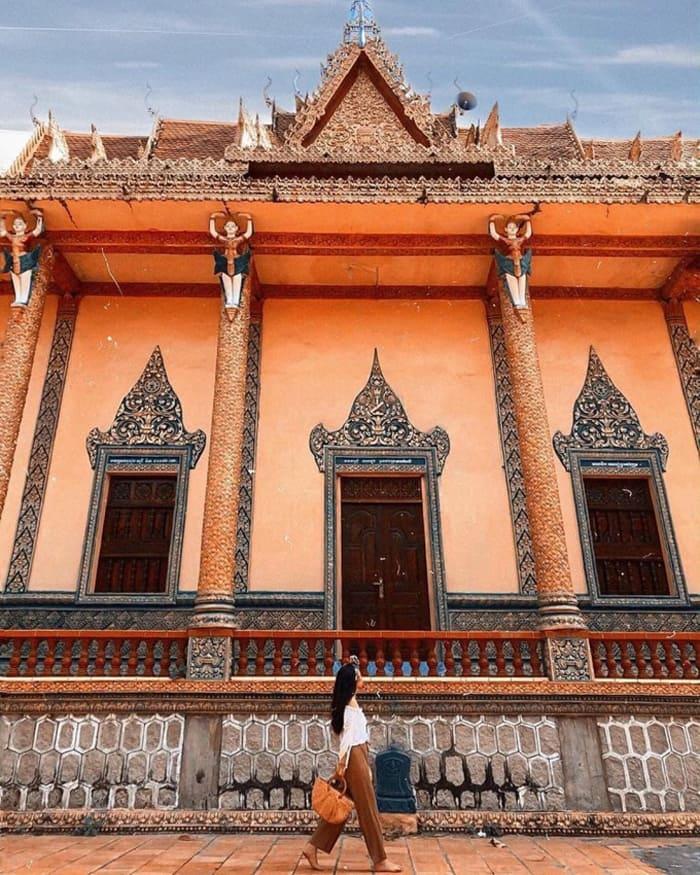 Check in chùa Cọc An Giang - Nơi tu hành