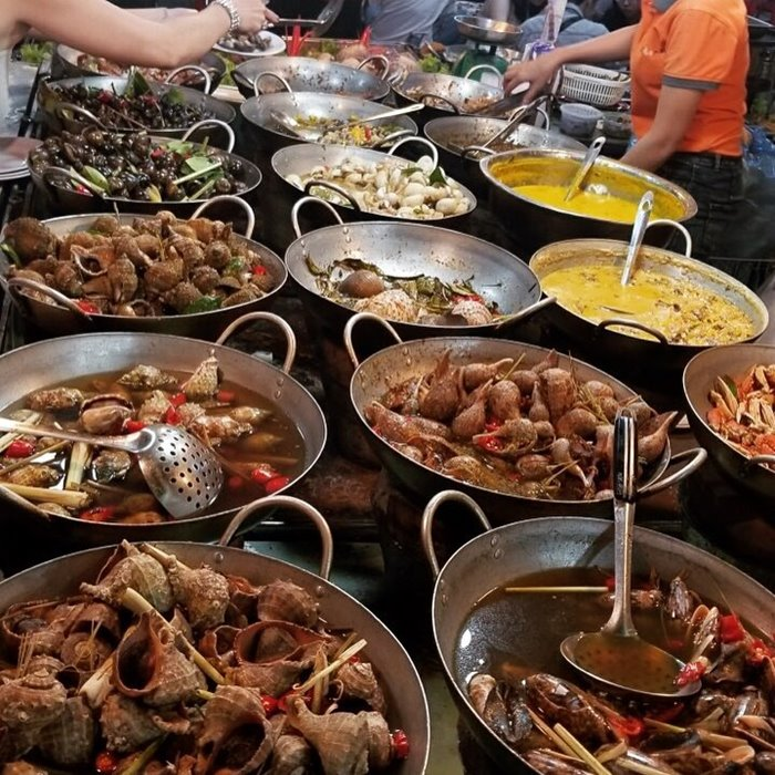 Ốc chảo - Quán ốc ngon ở Nha Trang