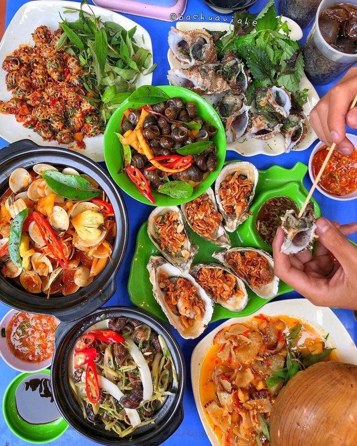 Ốc Xuân Anh - quán ốc ngon ở Nha Trang
