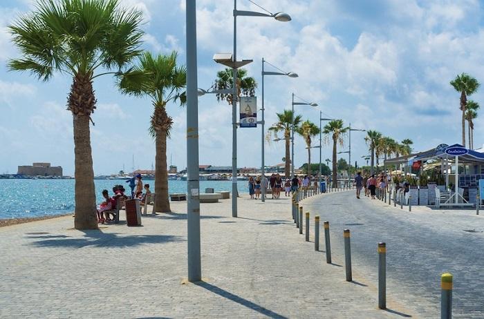 Đường phố ở Paphos - Du lịch đảo Síp