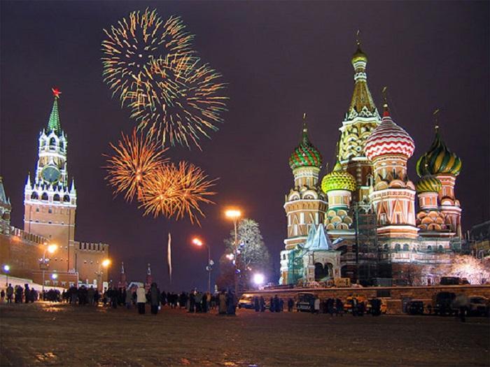 Đón năm mới - Phong tục của người Nga