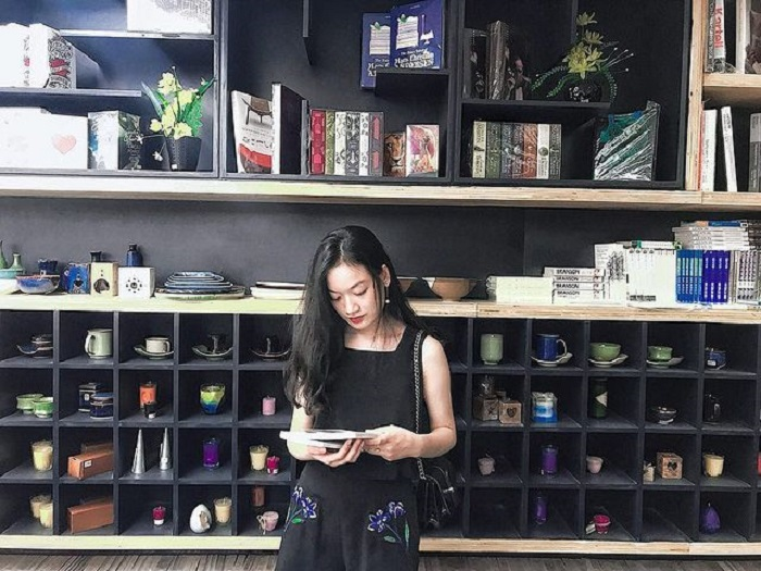 Những quán cafe sách ở Sài Gòn - Cafe nhà sách Cá Chép