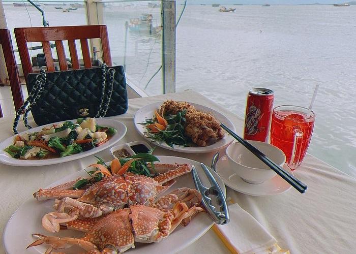 The best seafood restaurants in Vung Tau - Ganh Hao Seafood menu