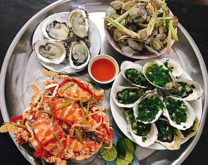 The best seafood restaurants in Vung Tau - Sweet Tamarind Seafood menu