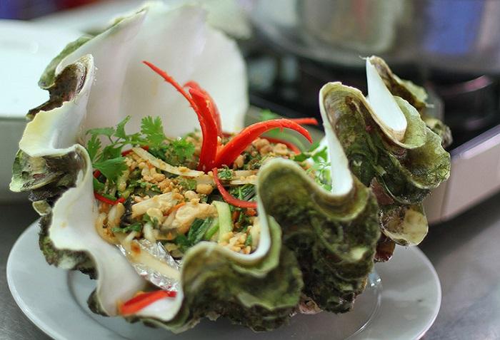 Những quán hải sản ngon rẻ ở Côn Đảo- quán Hải Phong thực đơn