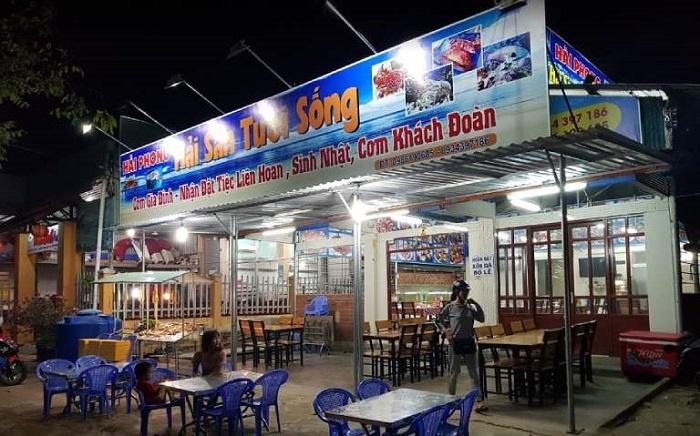 Những quán hải sản ngon rẻ ở Côn Đảo- quán Hải Phong