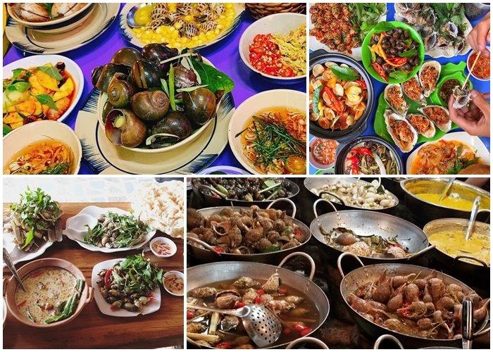 Những quán ốc ngon ở Nha Trang khiến tín đồ ẩm thực...chết mê