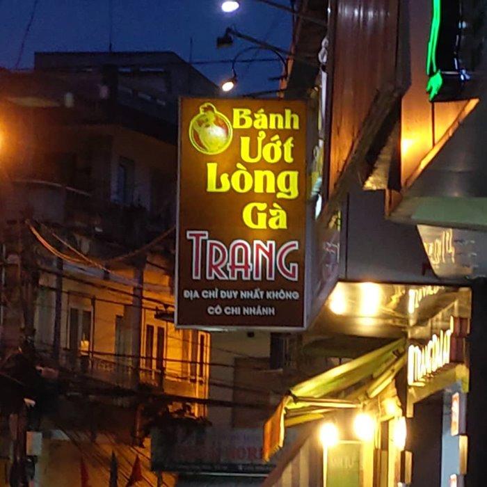 quán bánh ướt lòng gà Đà Lạt Trang