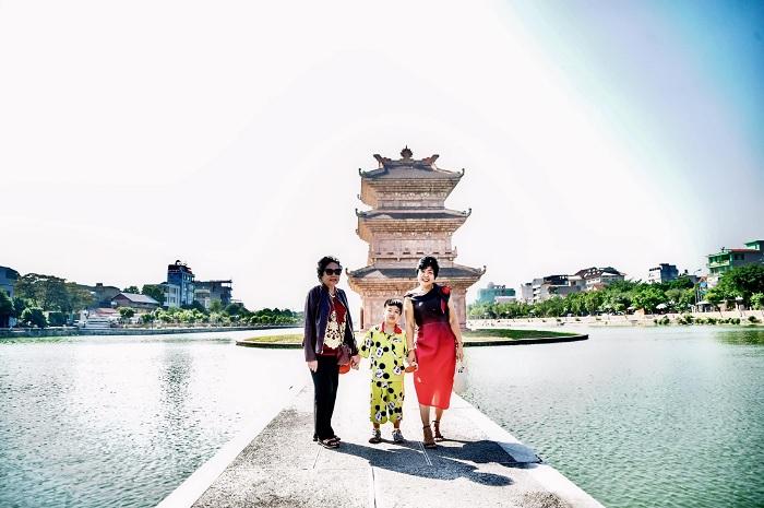 chùa nhỏ - công trình ấn tượng tại Chùa Vàng Ninh Bình