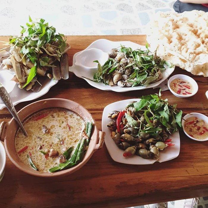 Thiên đường ốc Hallo -quán ốc ngon ở Nha Trang