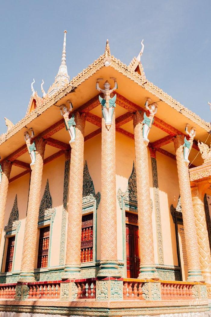 Check in chùa Cọc An Giang - Thiên đường sống ảo